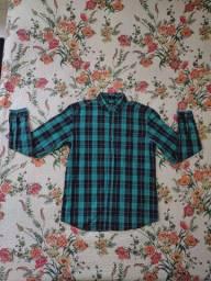 Camisa Manga Longa Xadrez G