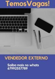 VAGAS para vendedor externo