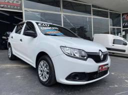 Renault Sandero 2020 Completo 1.0 Flex Revisado Novo Multi Mídia