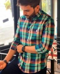 Camisa Xadrez Original Ralf Lauren