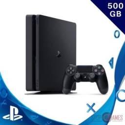 PlayStation 4 Slim Ps4 Slim 500gb- Novo -Parcelamento em 12x no cartão - Loja Física