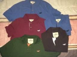 Lote 9 camisas M Hollister Aeropostale US Polo