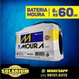 Bateria automotiva Moura e zetta