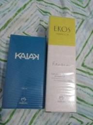 Perfume Kayak e Ekos Maracujá