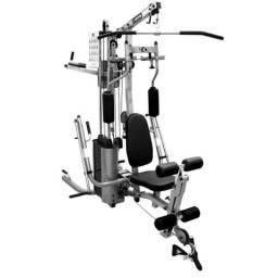 Estação de Musculação Kikos 518EC - Prata/Preto 100kg