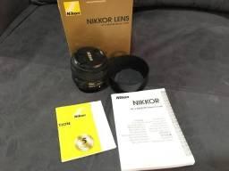 Lente Nikon Af-s Fx Nikkor 50mm F/1.8g na Caixa