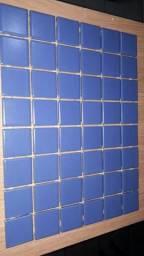 Pastilha Azul Cerâmica