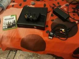 Xbox 360 desbloqueado. troco por celular avaliado em 800