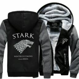 Blusa casaco Game of Thrones entrega gratuita d2c3b9f2b8a3f