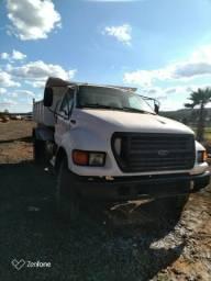 Caminhão f14000 toco caçamba - ano 2001