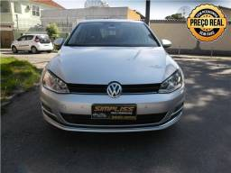 Vw - Volkswagen Golf highline 1.4 tsi turbo automático completo 2015 - 2015