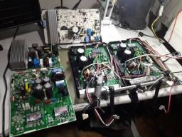 Placa eletrônica ar condicionado inverter