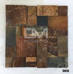 Título do anúncio: Mosaicos Pedra Ferro (ferrugem)