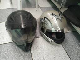 Capacetes de moto