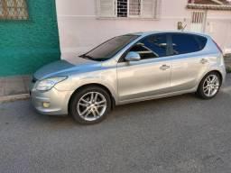 Hyundai I30 2010 prata completo, banco em couro + Automático - 2010