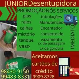 Título do anúncio: Junior desentupidora