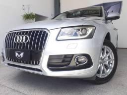 Audi Q5 2.0 Tfsi Ambiente 16V 225CV 2013/2014 Prata Blindado