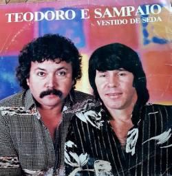 LP TEODORO E SAMPAIO, VESTIDO DE SEDA