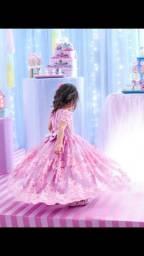 Vestido 3 anos rosa