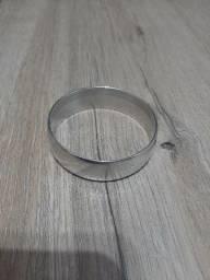 Pulseira bracelete prateada