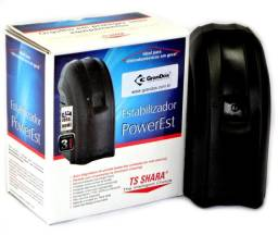 Estabilizador 300VA 110V PowerEst TS Shara, 4 tomadas