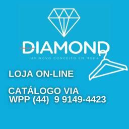 Vestido canelado // Conforto e qualidade // Diamond Maringá