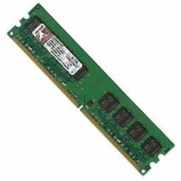 Memória Kingston 1gb DDR2 667Mhz (Ler a descrição) Somente 2 unidades