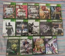 Kit 14 jogos Xbox 360