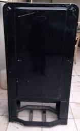 Estrutura de geladeira vintage