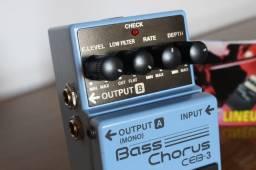 Pedal P/ Baixo Boss Ceb-3 Bass Chorus