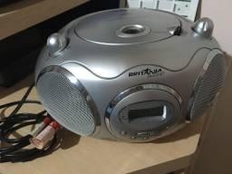 Rádio MP3 am/fm e toca cds quando quer