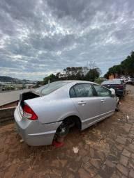 Sucata para retirada de peças- Honda Civic 2011