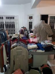 Loja roupas usadas brechó