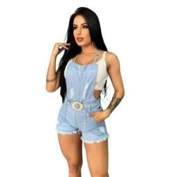 Macaquinho Feminino Jeans