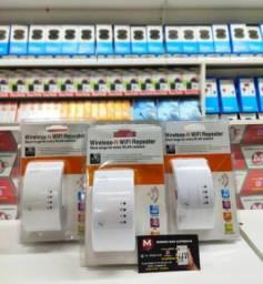 Repetidor - Expansor de Sinal Wireless Wi-Fi