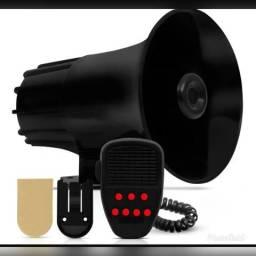Sirene Buzina Policia Tipo Rontan Megafone 7 Tons Alarme comprar usado  Fortaleza