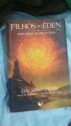 """Livro """"Filhos do Éden, Herdeiros de Atlântida."""""""