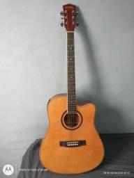 Vendo Violão Elétrico Folk Class conservado (Avista ou Cartão)