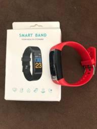 Vendo relógio Smart Band novo por 100,00