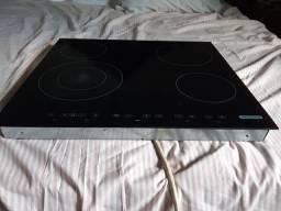 Cooktop Square 4EV 60 Slim Vitroceramico 4 Queimadores 58x51 220v Tramontina<br><br>