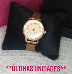 Promoção! Novo modelo de relógio com pulseira Magnética (imã)