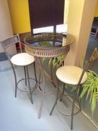 Conjunto Bistrô (Mesa com 4 Cadeiras)