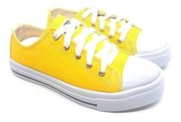 Tênis All Star Converse Amarelo!!
