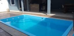 Duplex com 4 quartos, todo fino acabamento, espaço com piscina e área gourmet