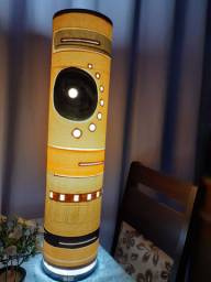 Luminária tribal original decorativo.. 80cmm