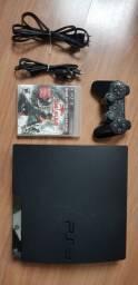 PlayStation 3 pouco usado