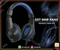 Headset Gamer trust Gxt 404b Rana azul m24sd10sd20