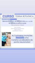 Curso toxina botulínica (botox)