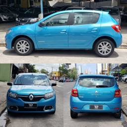 SANDERO EXPRESSION 1.6 COM KIT GNV G5 2015