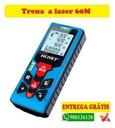 Trena a laser mede 60m - entrega grátis